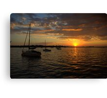 Morning over Westernport Bay Canvas Print