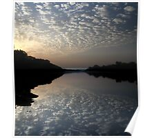 Niger River Reflections Poster