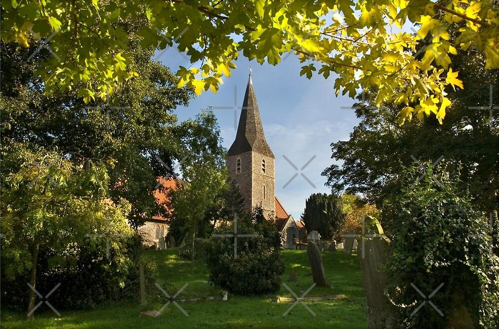 All Saints Church at Birchington by Geoff Carpenter
