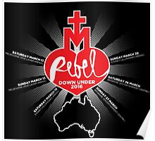 Rebel Heart Tour Down Under Poster
