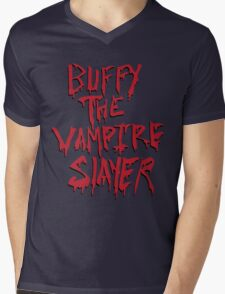 Buffy the Savior Mens V-Neck T-Shirt