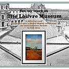 My work in the Louvre! by Chris Armytage™