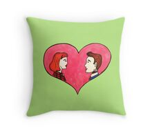 The Love Truth is Out There Throw Pillow