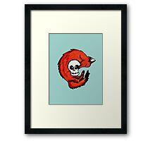 Fox & Scully Framed Print