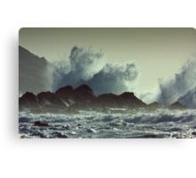 Kennack Storm Canvas Print