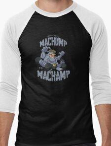 Machamp Workout Men's Baseball ¾ T-Shirt