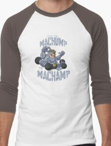 Machamp Workout Men's Baseball ¾ T-Shirt