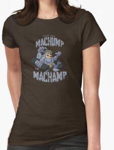 Machamp Workout Womens Fitted T-Shirt