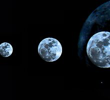 """A satellite called """"Moon"""" by rickvohra"""