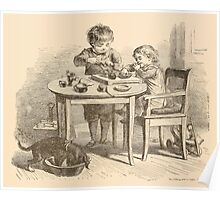 Five Mice in a Mouse Trap Laura Elisabeth Howe Richards and Kate Greenaway 1881 0221 Breakfast Poster