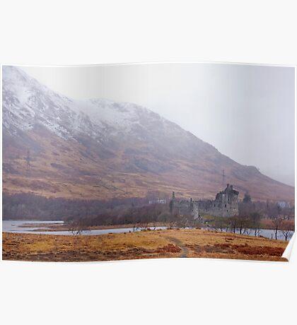 Kilchurn Castle, Scottish Highlands Poster