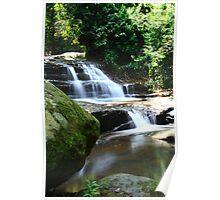 Mini Falls at Buderim Poster