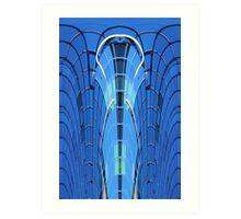 Modern building abstract 2 Art Print