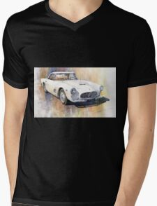 Maserati 3500 GT Coupe Mens V-Neck T-Shirt