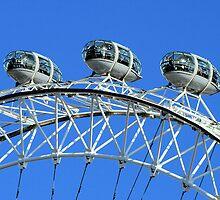 London Eye detail by rhallam