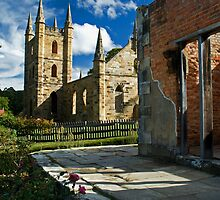 From Goverment Cottage to the Church by Hicksy