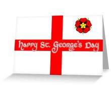 St. George's Day Greeting Card Greeting Card