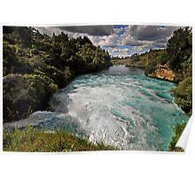 Huka Falls, Mighty Waikato Poster