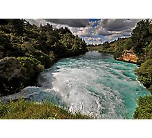 Huka Falls, Mighty Waikato Photographic Print