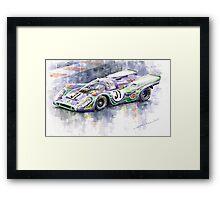 Porsche 917 K  Martini Racing 1970 Framed Print