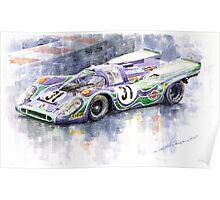 Porsche 917 K  Martini Racing 1970 Poster