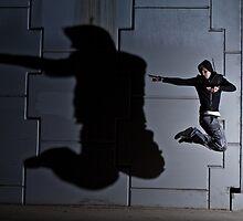 Jump Shadow by Matthew Cosier