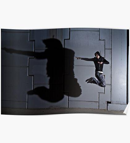 Jump Shadow Poster
