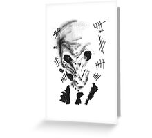 doctor who silence Greeting Card