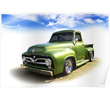 Fifties Ford Poster