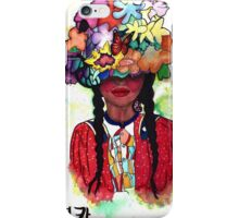Brown Native Beauty iPhone Case/Skin