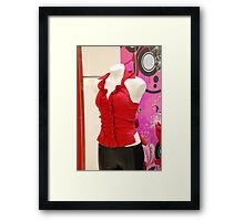 Stop! and re-arrange me Please! Framed Print