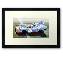 Porsche 917 K Gulf Le Mans 1971 Framed Print