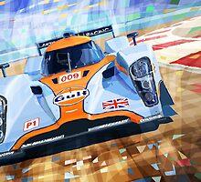 Lola Aston Martin LMP1 Le Mans Series 2009 by Yuriy Shevchuk