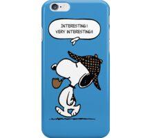 Snoopy Sherlock Holmes iPhone Case/Skin