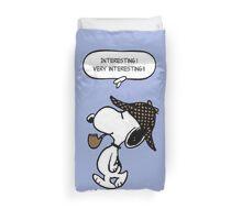 Snoopy Sherlock Holmes Duvet Cover