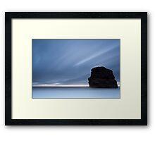 Marsden Rock, Dawn Framed Print