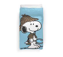 Sherlock Snoopy Duvet Cover