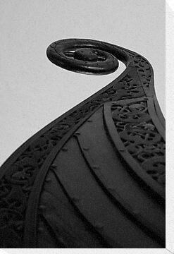 Oseberg Viking Ship  by Paul  Kane