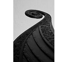Oseberg Viking Ship  Photographic Print