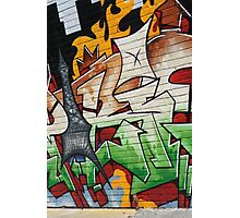 Street Art, Melbourne Photographic Print