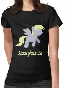 Derpy - Acceptance Womens Fitted T-Shirt