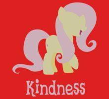 Fluttershy - Kindness  Kids Tee