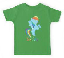 Rainbow Dash - Loyalty  Kids Tee