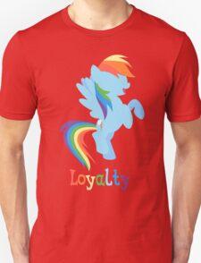 Rainbow Dash - Loyalty  Unisex T-Shirt