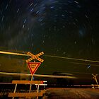 Give Way : Railway Crossing by Murray Wills