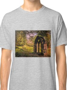 Manor house landscape. Classic T-Shirt