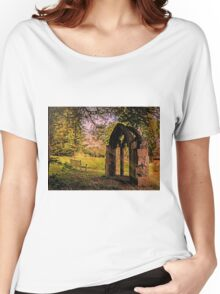 Manor house landscape. Women's Relaxed Fit T-Shirt