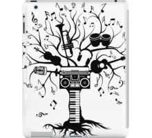 Melody Tree - Dark Silhouette iPad Case/Skin