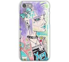 Punk Rock Girl iPhone Case/Skin