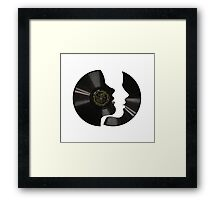 Vinyl Profile Framed Print